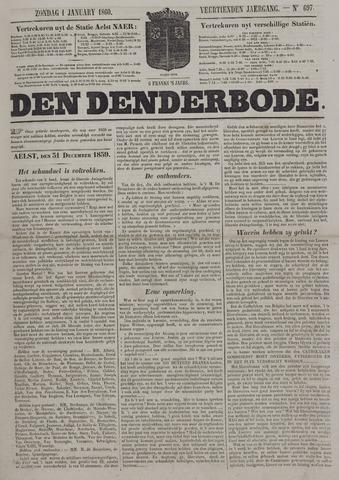 De Denderbode 1860