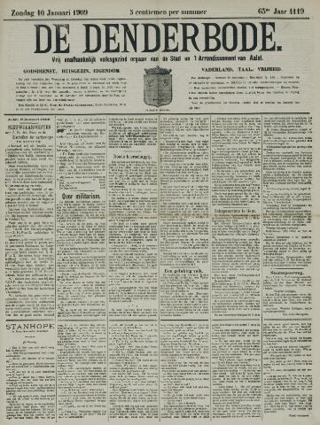 De Denderbode 1909-01-10