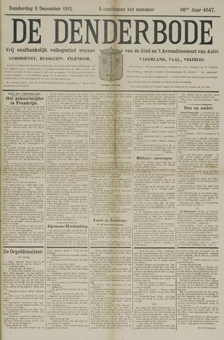 De Denderbode 1912-12-05