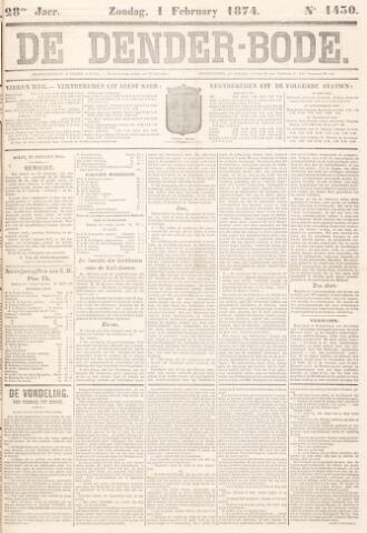 De Denderbode 1874-02-01