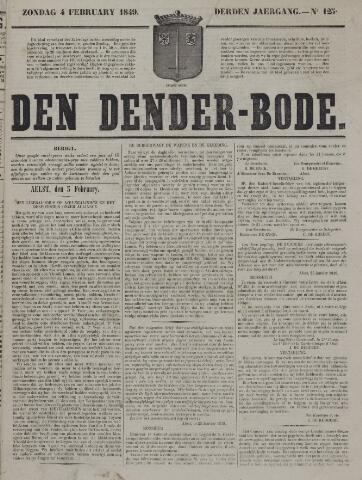 De Denderbode 1849-02-04