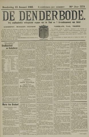 De Denderbode 1903-01-15