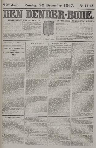 De Denderbode 1867-12-22