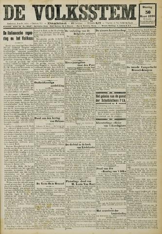 De Volksstem 1926-03-30
