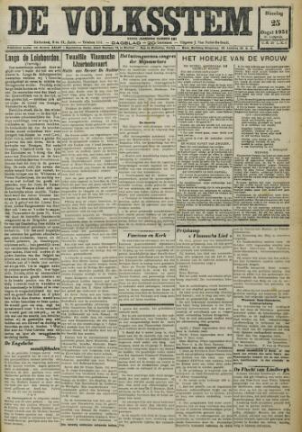 De Volksstem 1931-08-25