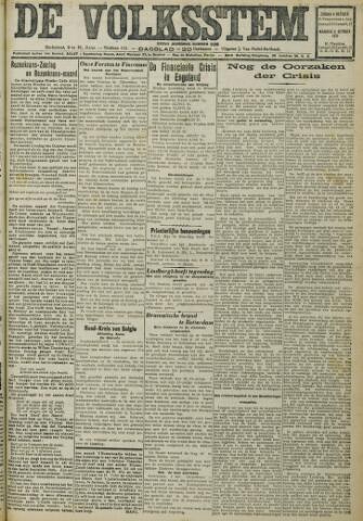 De Volksstem 1931-10-04