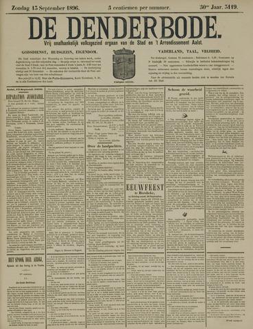 De Denderbode 1896-09-13