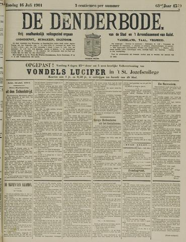 De Denderbode 1911-07-16