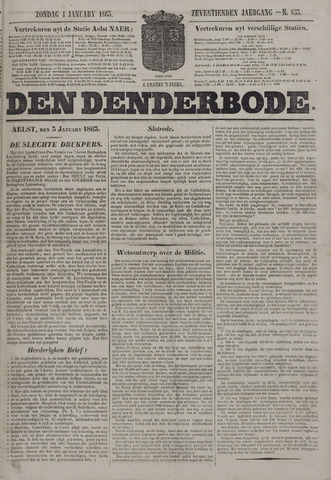 De Denderbode 1863