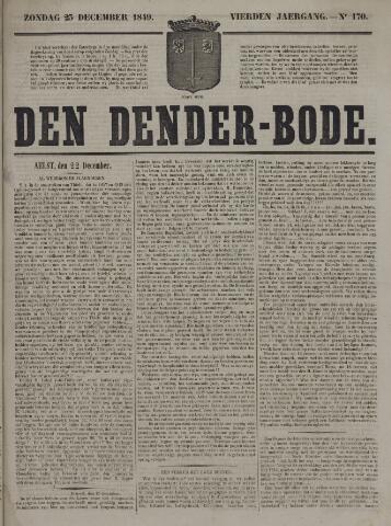 De Denderbode 1849-12-23