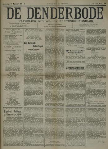 De Denderbode 1917