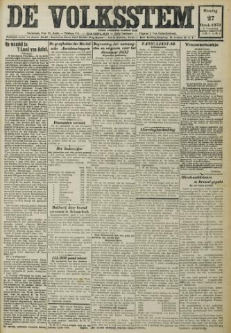 De Volksstem 1931-10-27
