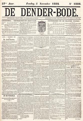 De Denderbode 1882-11-05