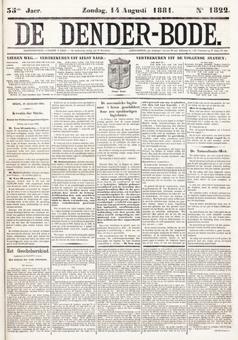 De Denderbode 1881-08-14