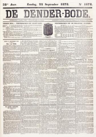 De Denderbode 1878-09-22