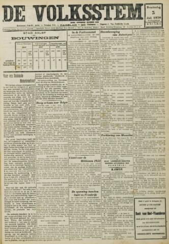 De Volksstem 1930-07-03