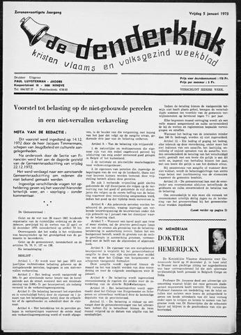 Denderklok 1973
