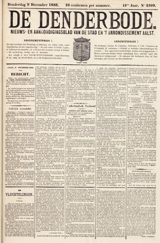De Denderbode 1886-12-09