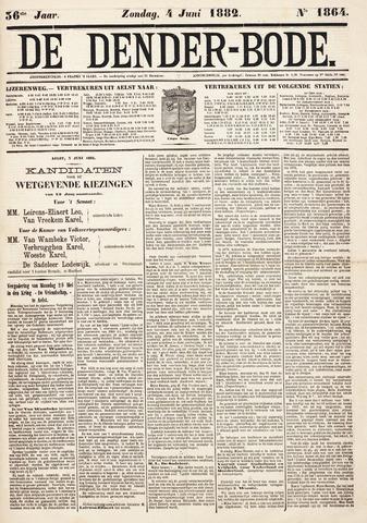 De Denderbode 1882-06-04