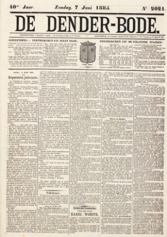 De Denderbode 1885-06-07