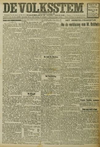 De Volksstem 1923-07-15