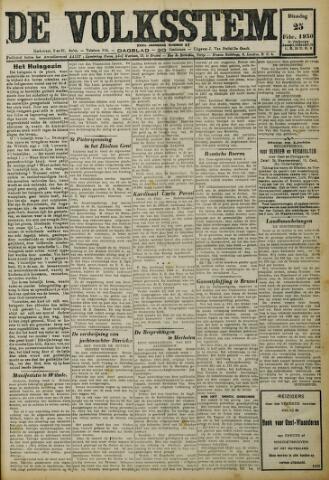 De Volksstem 1930-02-25