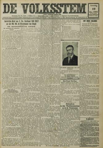 De Volksstem 1931-12-19