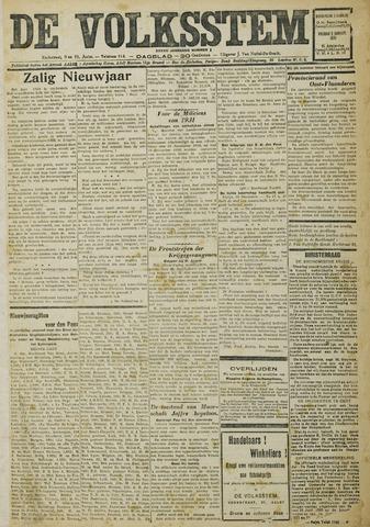 De Volksstem 1931-01-01