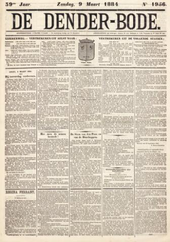 De Denderbode 1884-03-09