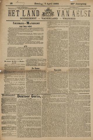 Het Land van Aelst 1888-04-15
