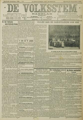 De Volksstem 1910-09-27