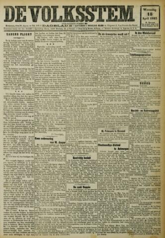 De Volksstem 1923-04-18