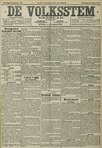 De Volksstem 1914-04-25