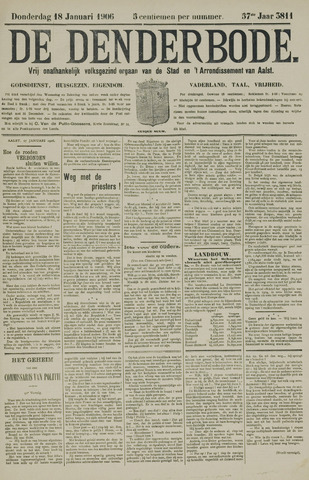 De Denderbode 1906-01-18