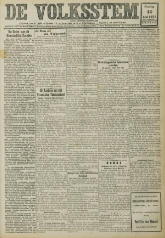 De Volksstem 1931-06-16