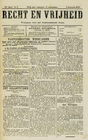Recht en Vrijheid 1911
