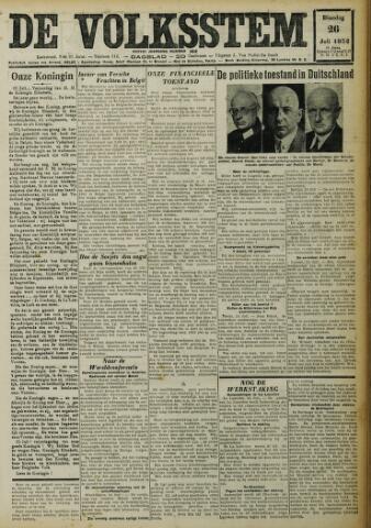 De Volksstem 1932-07-26
