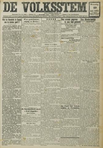 De Volksstem 1931-07-29