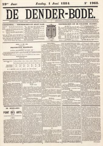 De Denderbode 1884-06-01