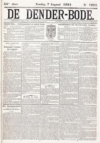 De Denderbode 1881-08-07