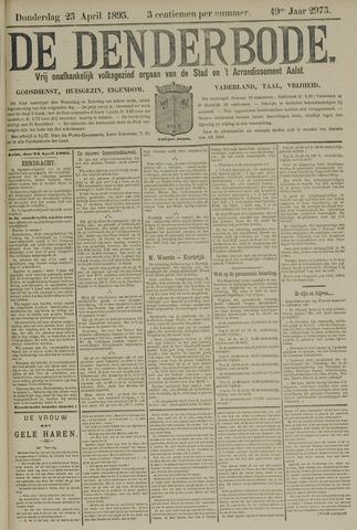 De Denderbode 1895-04-25
