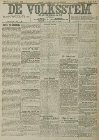 De Volksstem 1910-08-24