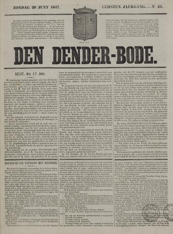 De Denderbode 1847-06-20
