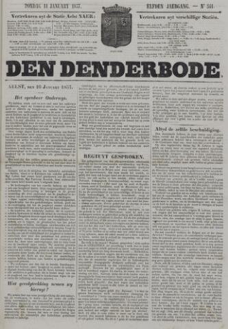 De Denderbode 1857-01-11