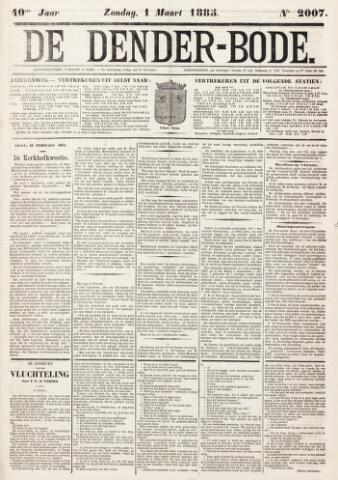 De Denderbode 1885-03-01