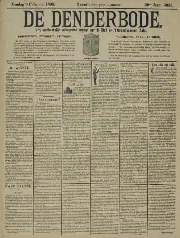 De Denderbode 1896-02-09