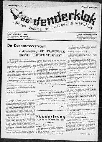 Denderklok 1972