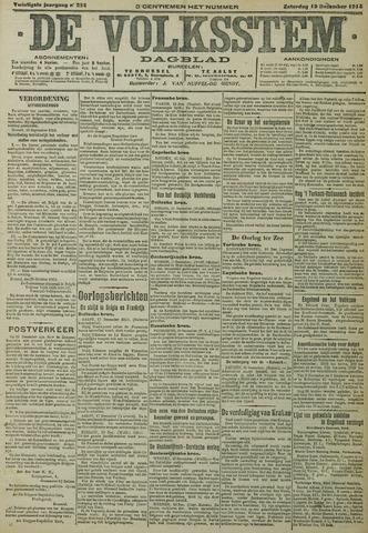 De Volksstem 1914-12-19