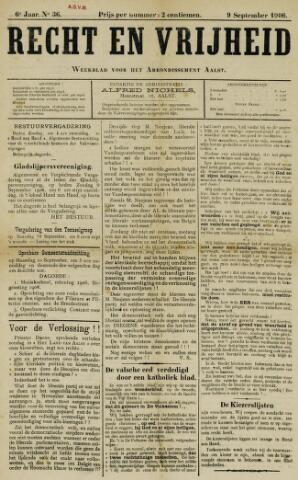 Recht en Vrijheid 1906