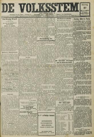 De Volksstem 1931-03-28